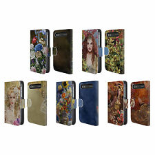 OFFICIAL NENE THOMAS FLORALS LEATHER BOOK CASE FOR BLACKBERRY ASUS ONEPLUS