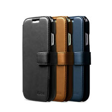 Zenus Prestige Heritage Genuine Leather Diary Cover Case For Samsung Galaxy S4