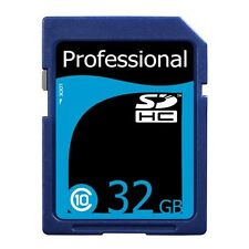New 32GB Class 10 SDHC SD HC High Speed Professional Flash Memory Card 32 G GB