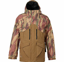 ANALOG ANTHEM 10K WATER CAMO CARAVAN MENS NEW SNOW SKI SNOWBOARD JACKET 2016