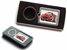 FERRARI CALIFORNIA Front Official Koolart Premium Metal Keyring With Gift Box
