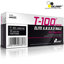 T-100 HARDCORE BLISTERS 30-180Caps Strongest Legal Testosterone Booster FREE P&P