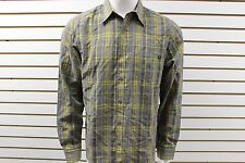 Men's Marmot Hadden Long Sleeve Plaid Button-Up Shirt Cinder 50530 New With Tag