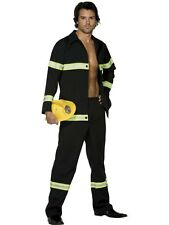 Sexy! HOT! Emergency FireFighter Uniform Adult Fireman Fancy Dress Party Costume