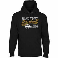 Wake Forest Demon Deacons Ballpark Pullover Hoodie - Black