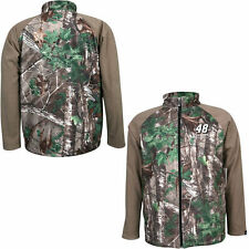 Jimmie Johnson Camo Realtree Xtra Green Fleece Jacket