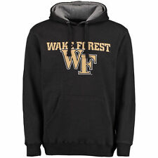 Wake Forest Demon Deacons Black Grayton Pullover Hoodie