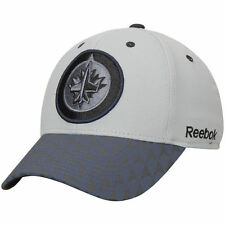 Reebok Winnipeg Jets Gray Crosscheck 2-Tone Structured Flex Hat - NHL