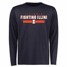 Illinois Fighting Illini Navy Team Strong Long Sleeve T-Shirt