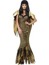 Adult Sexy Dark Nile Queen Cleopatra Ladies Halloween Fancy Dress Costume Outfit