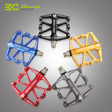 BaseCamp Mountain Bike Platform Pedals Flat Sealed Bearings Bicycle Pedals Alloy