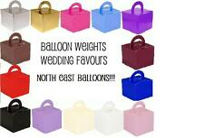 Pack of 5 Party/Wedding/Christening Gift/Favour Box/Helium Balloon Weight