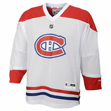 Reebok Montreal Canadiens Youth White Replica Away Jersey