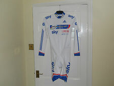 NEW SKY Adidas skinsuit track cycling world cup champion stripes -- bike PADDED