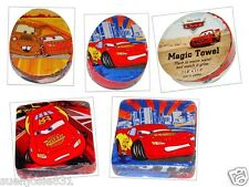 Disney Cars Lightning McQueen & Mater Magic Wash Cloth Towel 1pc Washcloth Favor