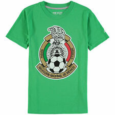 adidas Mexico Soccer Youth Kelly Green Graphic T-Shirt