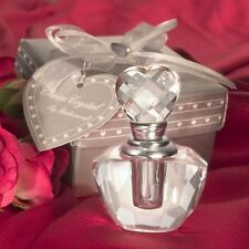 Set of 6 Choice Crystal Perfume Bottle Wedding Favours Special Occasions