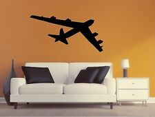 Military Plane Wall Decal - B52 Stratofortress Silhouette Sticker - Airplane 4