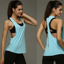 Women Loose Gym Tank Tops Fitness Vest Sport Sleeveless Tops Women Singlet