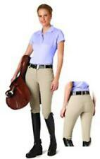 Ovation Madeline Euroseat Front Zip Breeches - Ladies, Knee Patch  *NEW*
