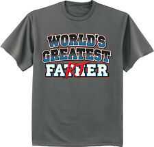Funny Fathers day t-shirt worlds greatest Farter funny saying gift for dad tee