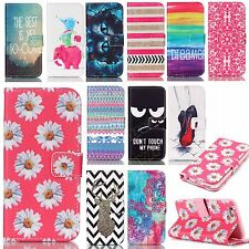 pu wallet phone case flip folios cover protective skins for Samsung iphone stand