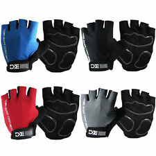 BaseCamp Cycling Bike Bicycle Half Finger Glove Sport Short Fingerless Gloves