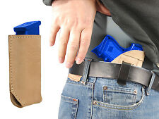 NEW Barsony Tan Leather IWB Holster + Mag Pouch Springfield Compact 9mm 40 45