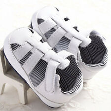 Baby Boy Girl Toddler Infant Sneakers Soft Leather Shoes Summer Sandals 0-18M