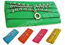 Fashion Womens Faux Leather Designer Bifold Ladies Long Wallet Coin Purse Card H