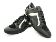 Fashion Mens Casual Black Synthetic Leather Smart Formal Lace Up Trainers Shoes