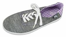 NSS Girls Gray Purple Athletic Canvas Sneakers Casual Shoes Assorted Sizes