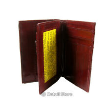 New EEL SKIN Small Credit/Business Deluxe Card Holder/Case w/ID windows Wallet