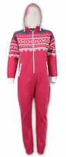 Kids Jumpsuits Onesie Girls Aztec Print All In One  Hooded Fleece age 2 to 6 yrs