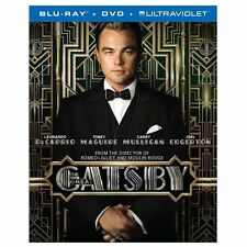 The Great Gatsby (Blu-ray/DVD, 2013, 2-Disc Set NO UV