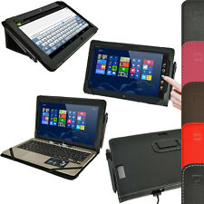 Leather Folio Flip Stand Case Cover Holder for Asus Vivo Tab TF810C TF810 11.6""