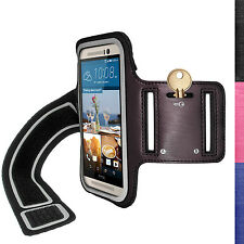 Running Jogging Sports Strap Armband for HTC One M9 2015 Fitness Gym Case Cover