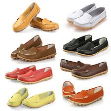 TN-TRAV New Women Flats 100% Genuine Leather Shoes Slip-on Comfort Shoes HY