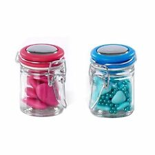 Set of 6 Glass Sweets Jar Party Bag Fillers & Wedding Favours Gifts