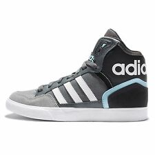 adidas Originals Extaball W Grey White Blue Womens Wedges Casual Trainers S75001