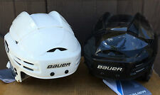Bauer 9900 Pro Stock Hockey Helmet White Black All Sizes New 5013