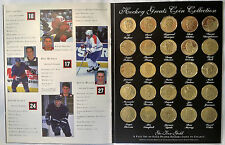 GOT-UM Hockey Greats Limited Edition Coin Collection - Full set 25 Gold Plated