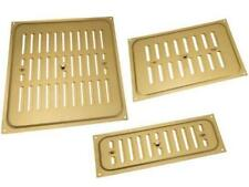 Adjustable Hit And Miss Aluminium Gold Brass Air Vent Grill Cover Ventilation