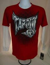 Boys new Tapout shirt size large 14-16 Crimson red nwt MMA Fighting