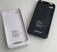 New Battery Pack  External Battery Case  For Apple Iphone 4 / 4S Cover Free Ship