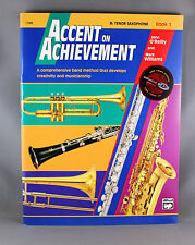 Accent On Achievement Book 1 - Various Instruments - Includes CD