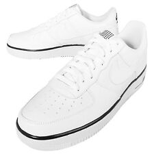 Nike Air Force 1 White Black Mens Casual Shoes Sneakers Trainers AF1 488298-160