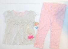 Child of Mine by Carter's Toddler Girls 2 Piece Outfit Size 24 Months NWT