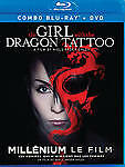 The Girl With the Dragon Tattoo(BRAND NEW Blu-ray/DVD COMBO)Noomi Rapace,