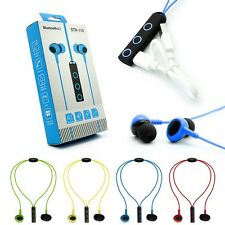 Sweatproof Sport In-Ear Bluetooth 4.1 Stereo Earphone Headphone Headset with Mic